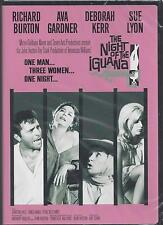 THE NIGHT OF THE IGUANA Richard Burton Ava Gardner Deborah Kerr Sue Lyon NEW DVD