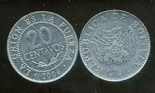 BOLIVIE   20 centavos  2006