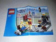 LEGO  notice  city 8401