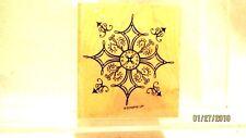 Stampin Up Decorative Snowflake or Cross Scrapbook Stamp