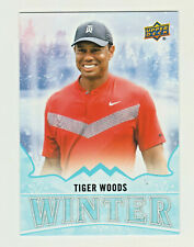 2019 Upper Deck Singles Day WINTER #W8 TIGER WOODS UNSCRATCHED