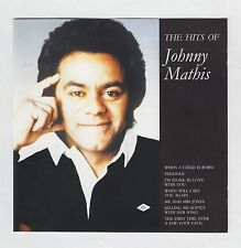JOHNNY MATHIS  =  {CD - 16 TRACKS}  =  THE HITS OF JOHNNY MATHIS  =