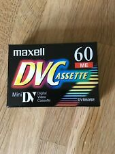 Mini Digital Video Casette - Mini DVC - 60 - Sealed New