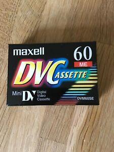 Mini Digital Video Casette - Mini DVC - 60 - Sealed New