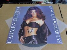 CARMEN ELECTRA EVERYBODY GET ON UP PIC SLEEVE  PROMO VINYL 12""