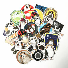 40 Pcs Star Wars Porg Stickers Decal Car Vinyl Jedi Chewbacca Phone Laptop Decor