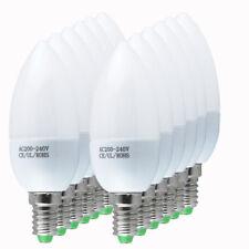 24x Bright E14 SES 3W=30w LED Candle Bulbs Spotlight Cool White Light Spot Bulb