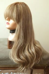 Dimples Adele  Trendco 100% Remy human hair hand-tied monofilament long wig