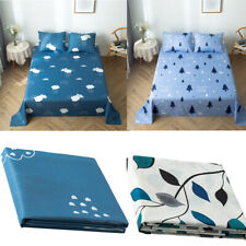 Bed Sheet Flat Sheet Floral Bedding Sheet Single Double King Sheets All Size