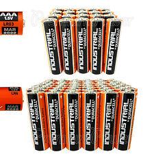 20 AAA + 60 AA Duracell Industrial Procell Alkaline 80 batteries MIX LR03 LR6
