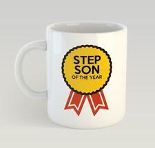 Step Son Award Funny Mug Gift Novelty Humour Birthday Stepson