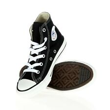 CONVERSE Shoes All Star Canvas Athletic Sneakers Black Hi Top Youth SIZE 3