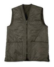 NWT BARBOUR Men's Polarquilt Vest Waistcoat/Zip-in Liner Green/Olive Small