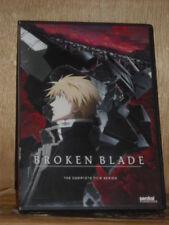 Broken Blade: The Complete Series (DVD, 2012, 2-Disc Set) anime