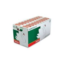 SWAN MENTHOL EXTRA SLIM PRE CUT CIGARETTE FILTER TIPS PACK OF 20 10 5 1 x 165Box
