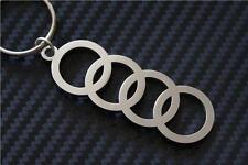 für Audi Ringe Schlüsselanhänger Schlüsselring porte-clés quattro FSI SLINE A3