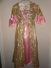 Enchanted Princess Gold Gown halloween costume Size 6-8