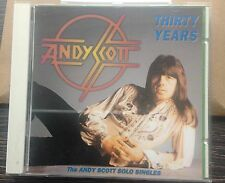 THE SWEET - Andy Scott '30 Years' German CD Autographed by guitarist Andy Scott