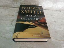 Libro Cartonato la legge del deserto longanesi