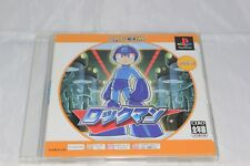 Rockman/Megaman 1 PS1 Japan Import North American Seller Game and Manual Only