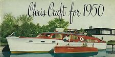 Chris Craft Boat Ad Metal Sign FREE SHIPPING Vintage Boat Cabin Decor
