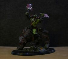 World of Warcraft Collectible Figure Rare: Orc Wolf Rider