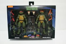 NECA TMNT Movie Ninja Turtles Walmart Raphael Michelangelo Missing 2 Bandanas