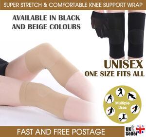 2 x Quality Stretchable Compression Knee Support Sleeve Patella Injury Arthritis