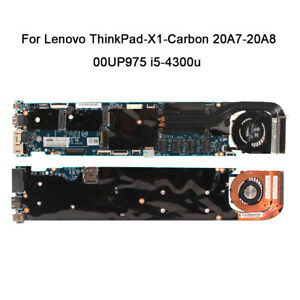 00UP975 New For Lenovo ThinkPad-X1-Carbon 20A7-20A8 motherboard Intel i5-4300u