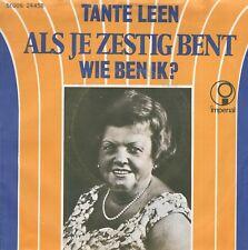 7inch TANTE LEENals je zestig bentHOLLAND 1972 EX (S2294)