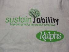 Small- NWOT Ralphs Grocery Stores Environment Matters T- Shirt