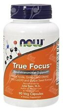 Now Foods, True Focus with Tyrosine - Taurine - Phenylalanine - 500mg x90Vcaps