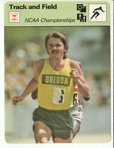 STEVE PREFONTAINE NCAA Championships Track 1978 SPORTSCASTER CARD 34-10A RC