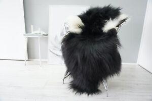 Genuine Rare Single Icelandic Sheepskin Rug | Natural Long Wool Rug |  SI 545