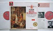 VERDI Requiem SCHWARZKOPF/ DE SABATA/SIEPI/DI STEFANO 2 LP EMI 1C147-00937/38