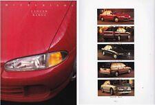 1994 MITSUBISHI CC LANCER Range Australian Prestige Brochure Includes COUPE GSR