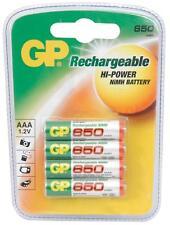 Gp 656.158 Ekopower Recargables Nimh 650mah Aaa Pilas 1000 Recargas 4 Pack