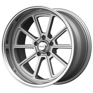 "American Racing VN510 Draft 18x8 5x5"" +0mm Silver Wheel Rim 18"" Inch"