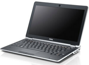"""Dell Latitude E6230 i5-3340M 8GB 256GB SSD 12.5"""" Screen Win 10 Pro"""