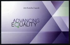 2011 Australia - Advancing Equality Stamp Pack