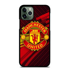 MANCHESTER UNITED iPhone 6 6S 7 8 Plus X XS Max XR 11 Pro Max Case