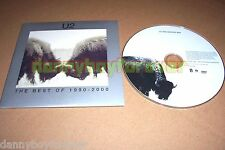 U2 CD & DVD Lot Mysterious Ways 18 Videos The Best of 1990-2000 Promo 4-song DVD