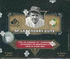 2007 UPPER DECK UD SP LEGENDARY CUTS BASEBALL HOBBY BOX BLOWOUT CARDS