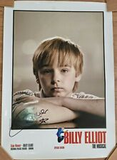 More details for rare billy elliot the musical special edition hand signed liam mower poster