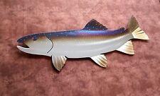 Handmade Metal Trout/Steelhead,Fish,Fly,Fishing,Cabin.Lodge,Art,Wall,Home decor