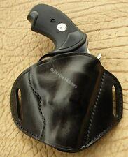 "Colt Agent,Detective special S&W J Frame 2"" Leather Gun Holster R/H Black U.S.A."
