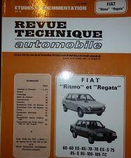Neuf FIAT RITMO REGATA 60 80 65 70 75 85 100 105TC REVUE TECHNIQUE RTA CIP 3923