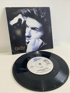 "George Michael - Faith 7"" Vinyl Record"