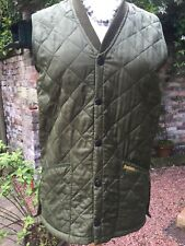 Barbour Liddesdale Shooting Gilet waistcoat Small Green