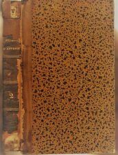 VOYAGES D'ANTÉNOR en GRÈCE en ASIE Notions sur l'Égypte par De LANTIER 1818 T.2